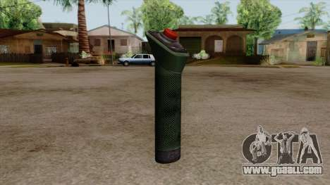 Original HD Bomb Detonator for GTA San Andreas