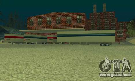 Oil company LUKOIL for GTA San Andreas third screenshot