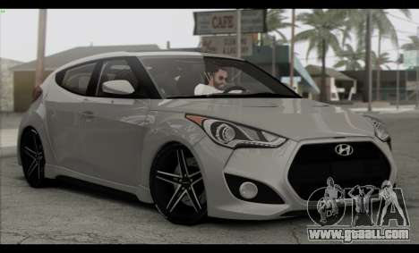 Hyundai Veloster 2012 for GTA San Andreas side view