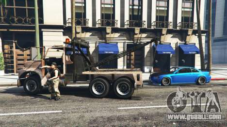 GTA 5 Call a tow truck v1.3 second screenshot