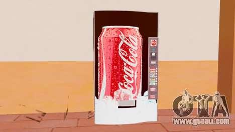 The Coca Cola Machine for GTA San Andreas third screenshot