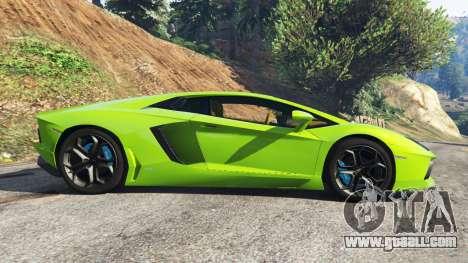Lamborghini Aventador LP700-4 v1.0 for GTA 5