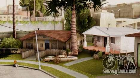 HD Grove Street for GTA San Andreas third screenshot