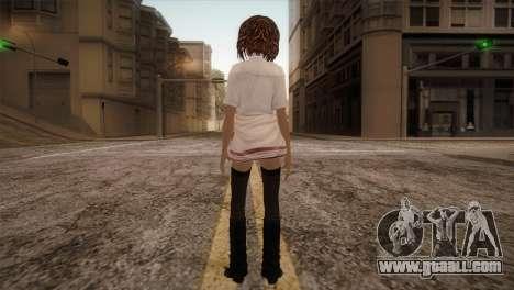Rasta School Girl for GTA San Andreas third screenshot