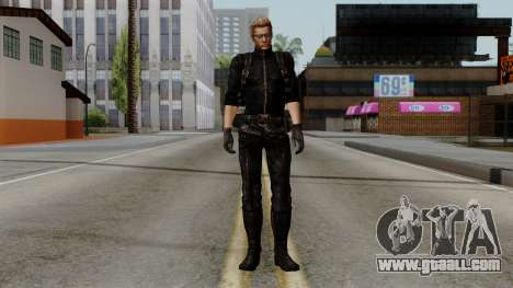 Wesker Midnight for GTA San Andreas second screenshot