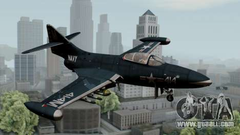 Grumman F9F-5 Phanter for GTA San Andreas
