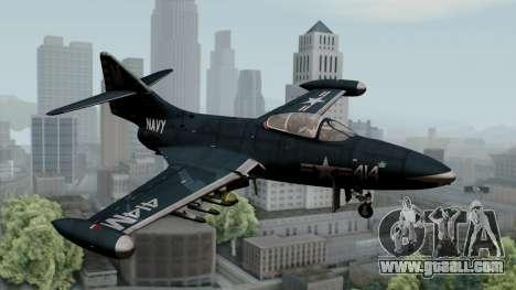 Grumman F9F-5 Phanter for GTA San Andreas