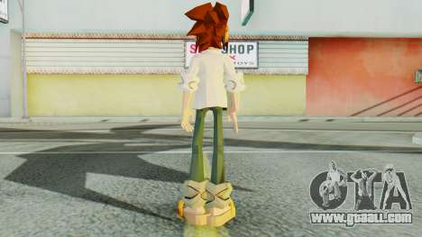 Yoh Asakura for GTA San Andreas third screenshot