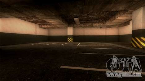 New LSPD Parking for GTA San Andreas fifth screenshot