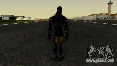 Ant-Man Yellow Jacket for GTA San Andreas third screenshot