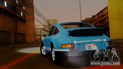 Porsche 911 Carrera RS 2.7 Sport (911) 1972 HQLM for GTA San Andreas right view