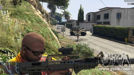 GTA 5 The army instead of the police on 5-stars v1.3.4 second screenshot
