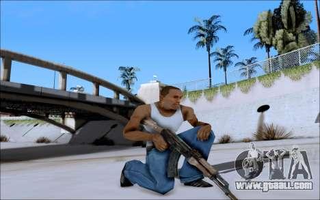 AK-47 Soviet for GTA San Andreas third screenshot