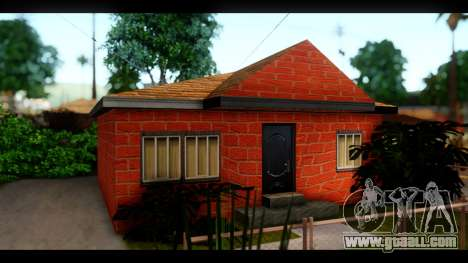 New textures of the houses around grove Street for GTA San Andreas forth screenshot