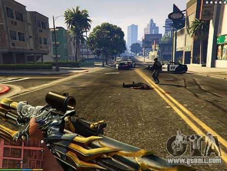 GTA 5 AK-47 Beast second screenshot