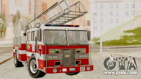SAFD Fire Lader Truck for GTA San Andreas