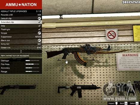 AK-47 Beast for GTA 5