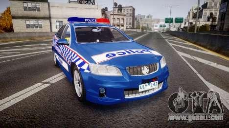 Holden VE Commodore SS Highway Patrol [ELS] v2.0 for GTA 4