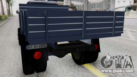 DAC 6135 Facelift for GTA San Andreas back view