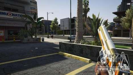 GTA 5 Asiimov Pistol.50 fourth screenshot