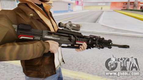 Sniper Rifle 8x Scope for GTA San Andreas