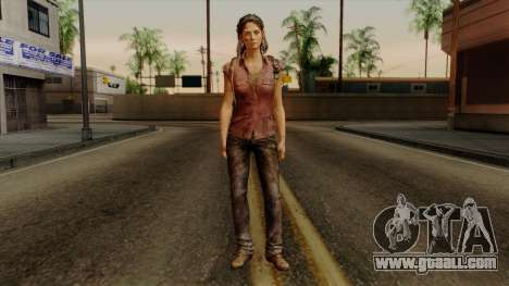 Tess from The Last of Us for GTA San Andreas second screenshot