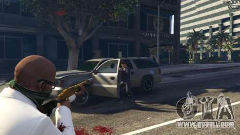 GTA 5 Strapped Peds fifth screenshot