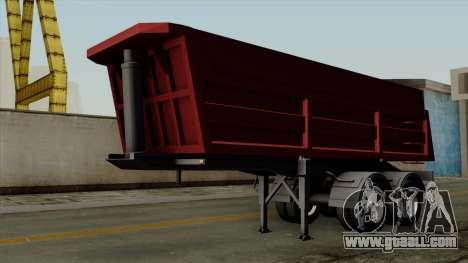 Trailer Dumper for GTA San Andreas