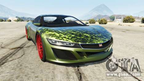 Dinka Jester (Racecar) Hulk for GTA 5