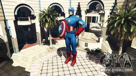 Statue Captain America for GTA 5