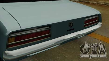 Patriot Vegas G20 IVF for GTA San Andreas back view