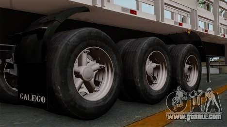 Trailer Rejas Gas for GTA San Andreas back left view