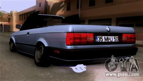 BMW M3 E30 Cabrio for GTA San Andreas left view