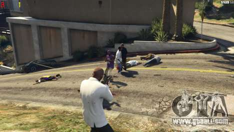 GTA 5 Gang wars 0.2