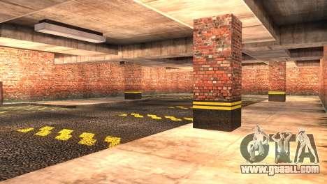 Doherty Garage Retexture for GTA San Andreas third screenshot