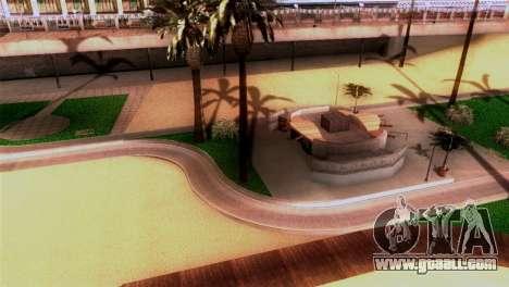 New beach in Los Santos for GTA San Andreas second screenshot
