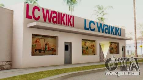 LC Waikiki Shop for GTA San Andreas second screenshot