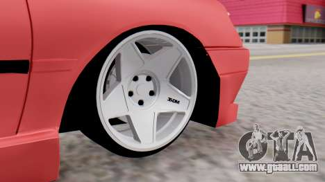 Peugeot 306 GTI for GTA San Andreas back left view