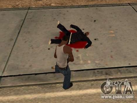 Animation from GTA Vice City for GTA San Andreas ninth screenshot