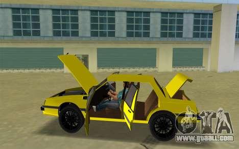 GTA IV Willard Yellow Submarine for GTA Vice City right view