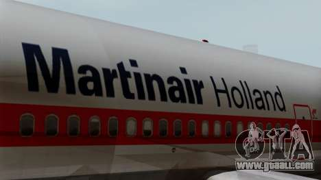 DC-10-30 Martinair for GTA San Andreas back view