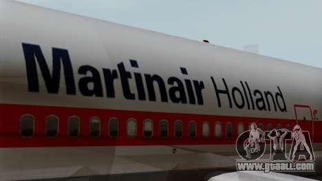 DC-10-30 Martinair for GTA San Andreas back view