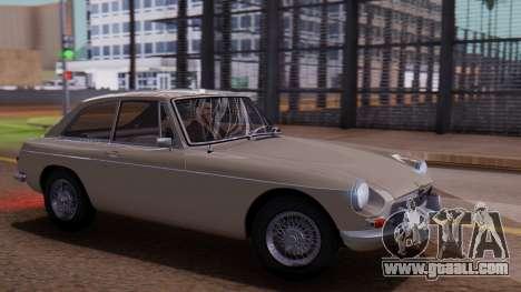 MGB GT (ADO23) 1965 IVF АПП for GTA San Andreas