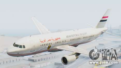 Airbus A320-200 Egyptian Air Force One for GTA San Andreas