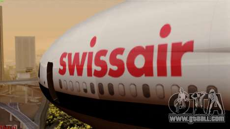 DC-10-30 Swissair for GTA San Andreas back view