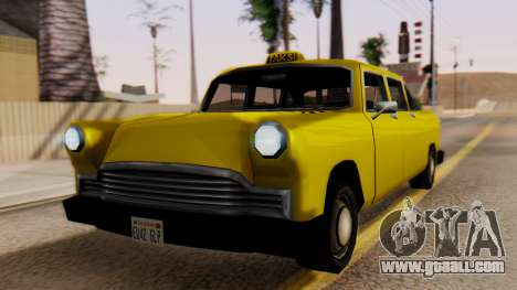 Cabbie New Edition for GTA San Andreas