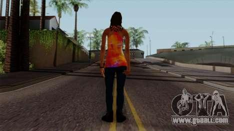 Curly Alara for GTA San Andreas third screenshot