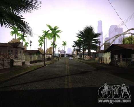 Professional Graphics Mod 1.2 for GTA San Andreas third screenshot