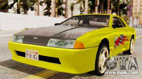 Vinyl for Elegy - Sport for GTA San Andreas