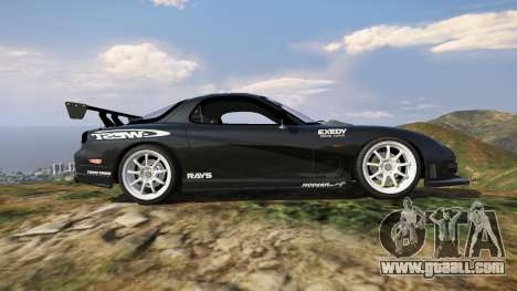 GTA 5 Mazda RX7 C-West 0.2 left side view